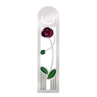 Mackintosh Coloured Rose Bookmark